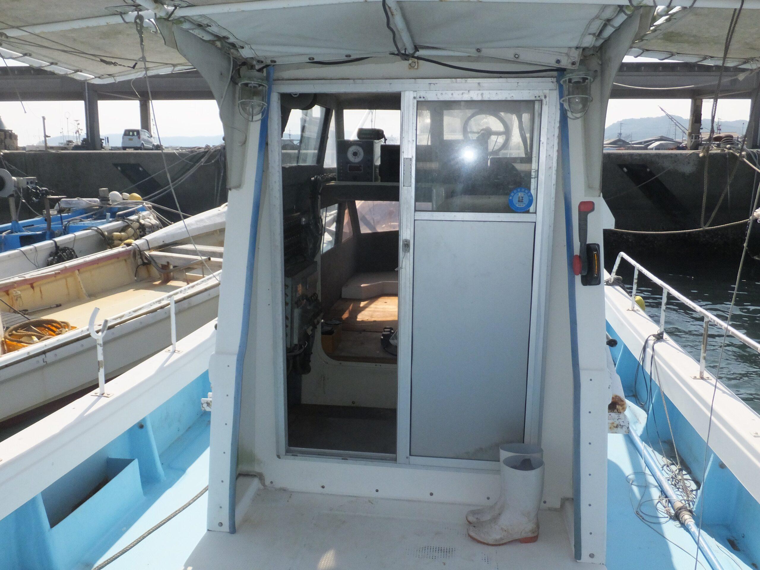 操船用の艤装